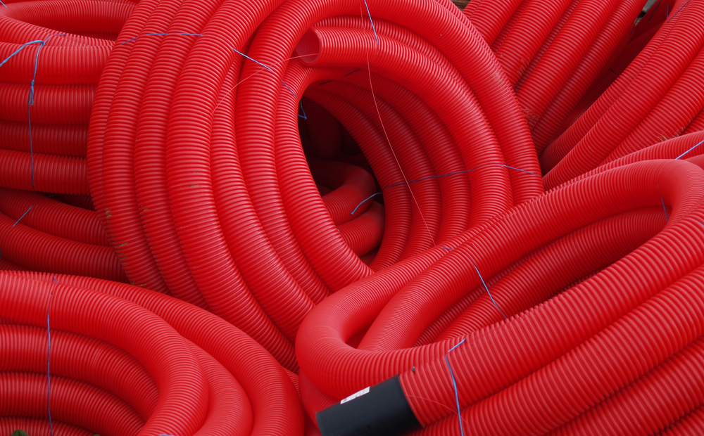 Underground Cable Protection Flexible Conduit Pipe 450n