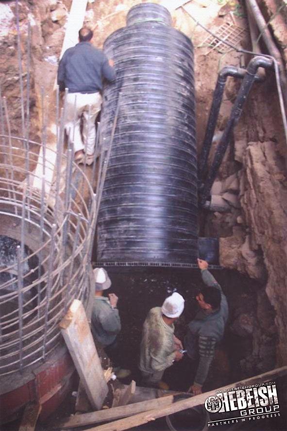 Ramsis Train Station – HDPE Manholes